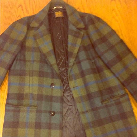 Vintage Pendleton men's wool Coat